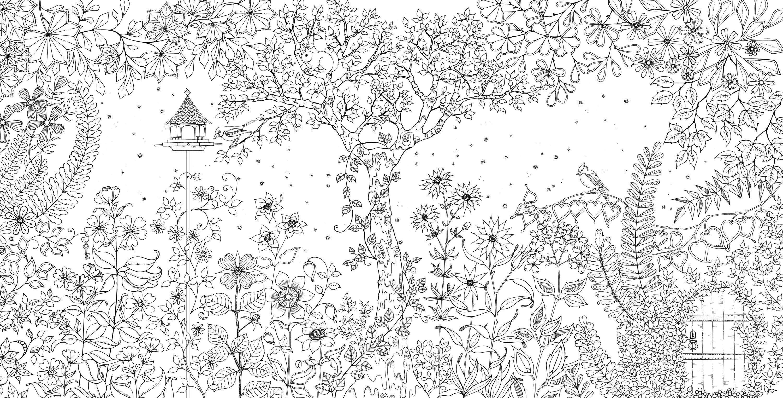 Http Www Zangak Am Images Secret Garden0 Jpg Garden Coloring Pages Secret Garden Coloring Book Secret Garden Colouring