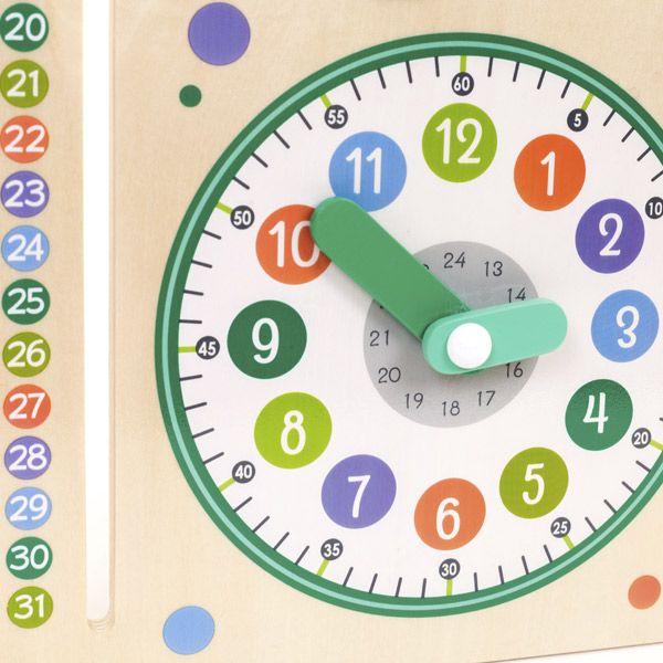 Calendario orologio italiano