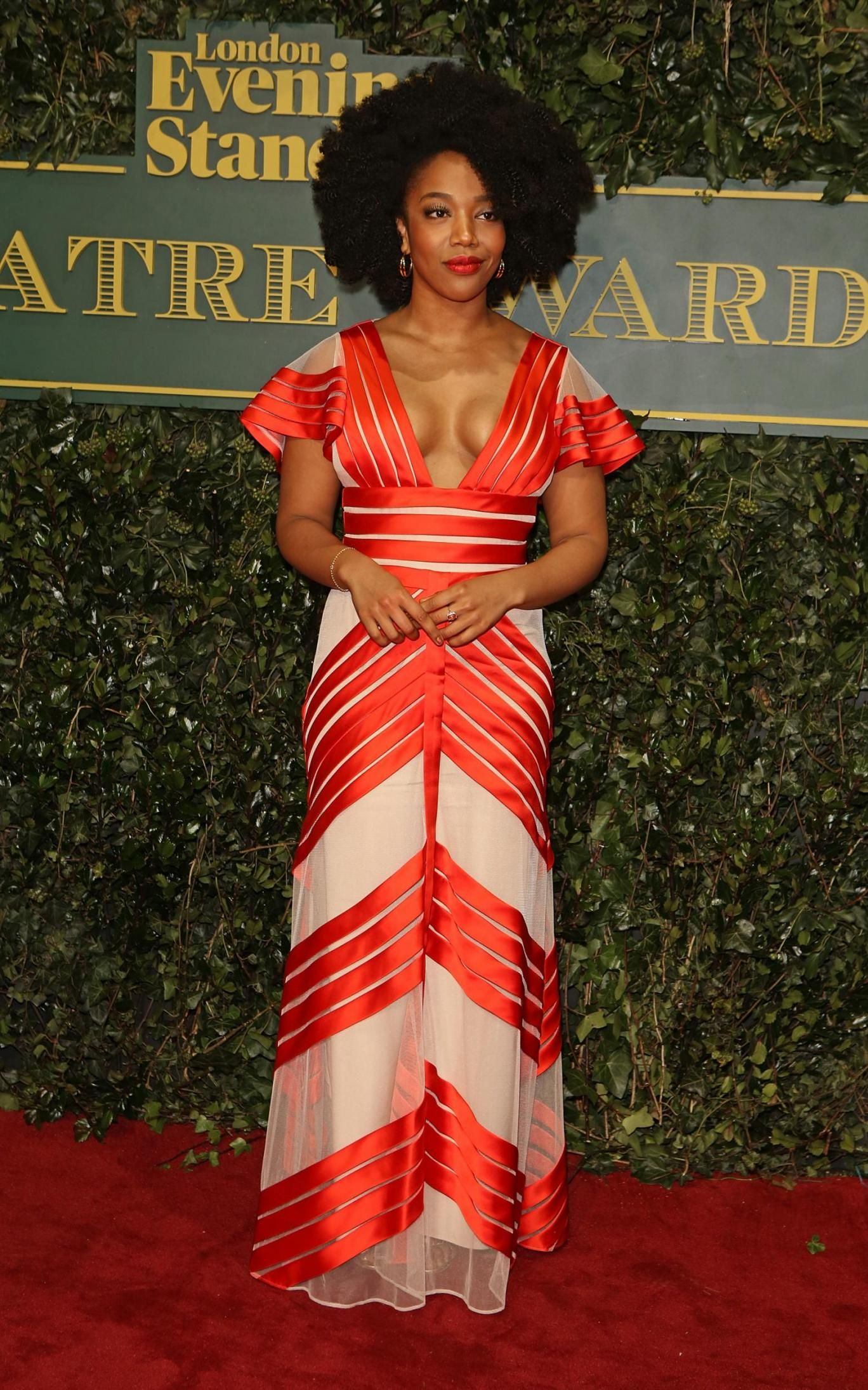 Naomi Ackie, ES Theatre Awards, Styled by Hollyounstead ...