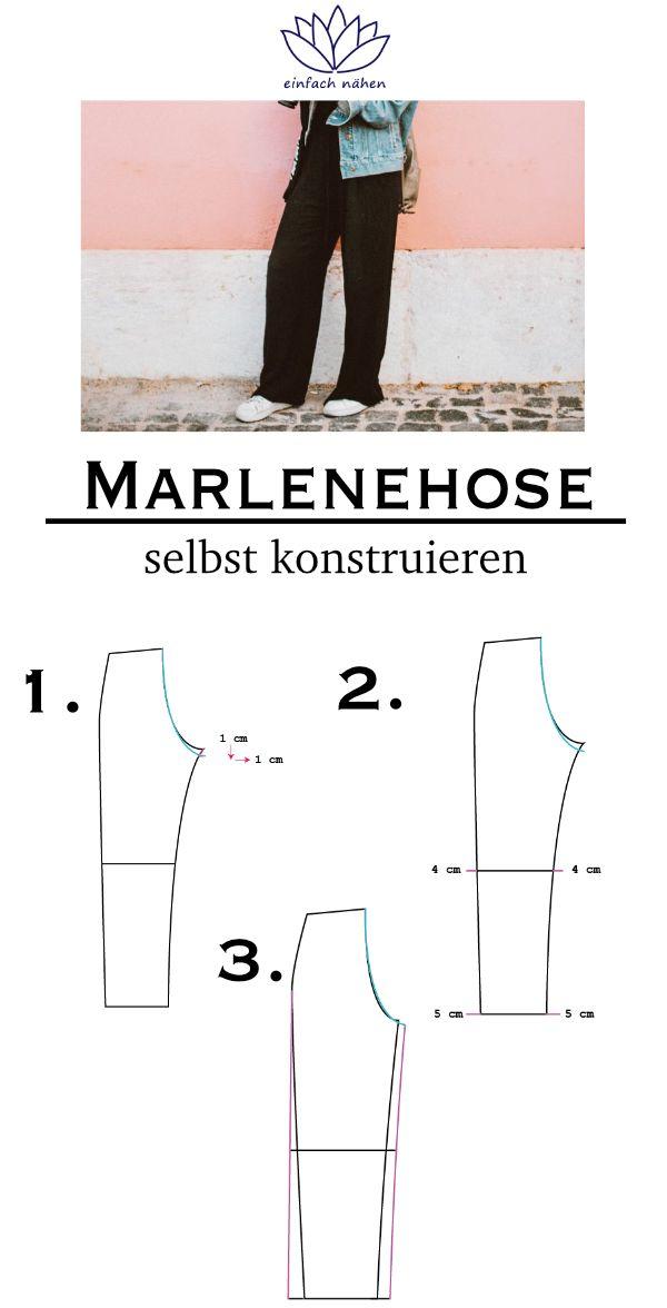 Photo of Aus Hosengrundschnitt wird Marlenehose – so geht's! | EINFACH NÄHEN | PREMIUM | INSPIRATION |