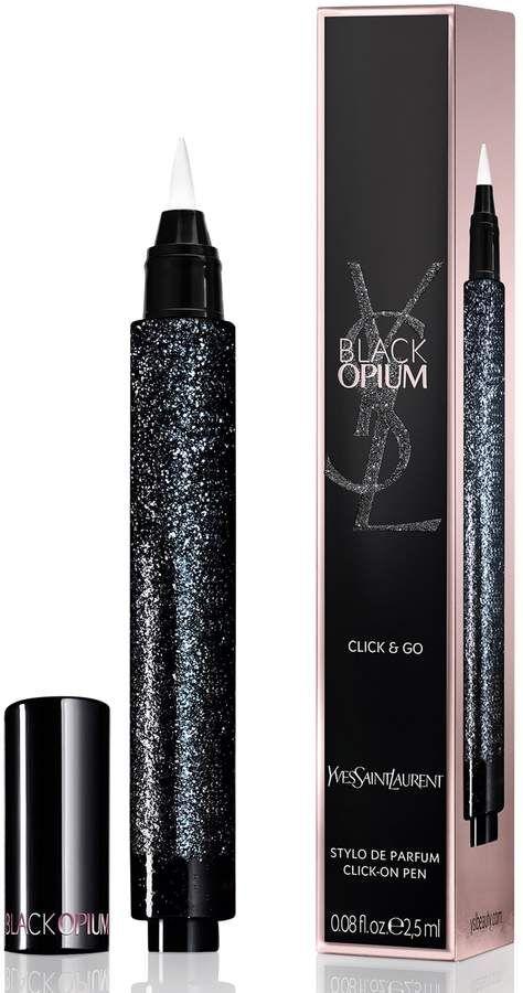 Yves Saint Laurent Black Opium Click & Go Perfume Gel Brush Pen #scentsyfridaythe13th