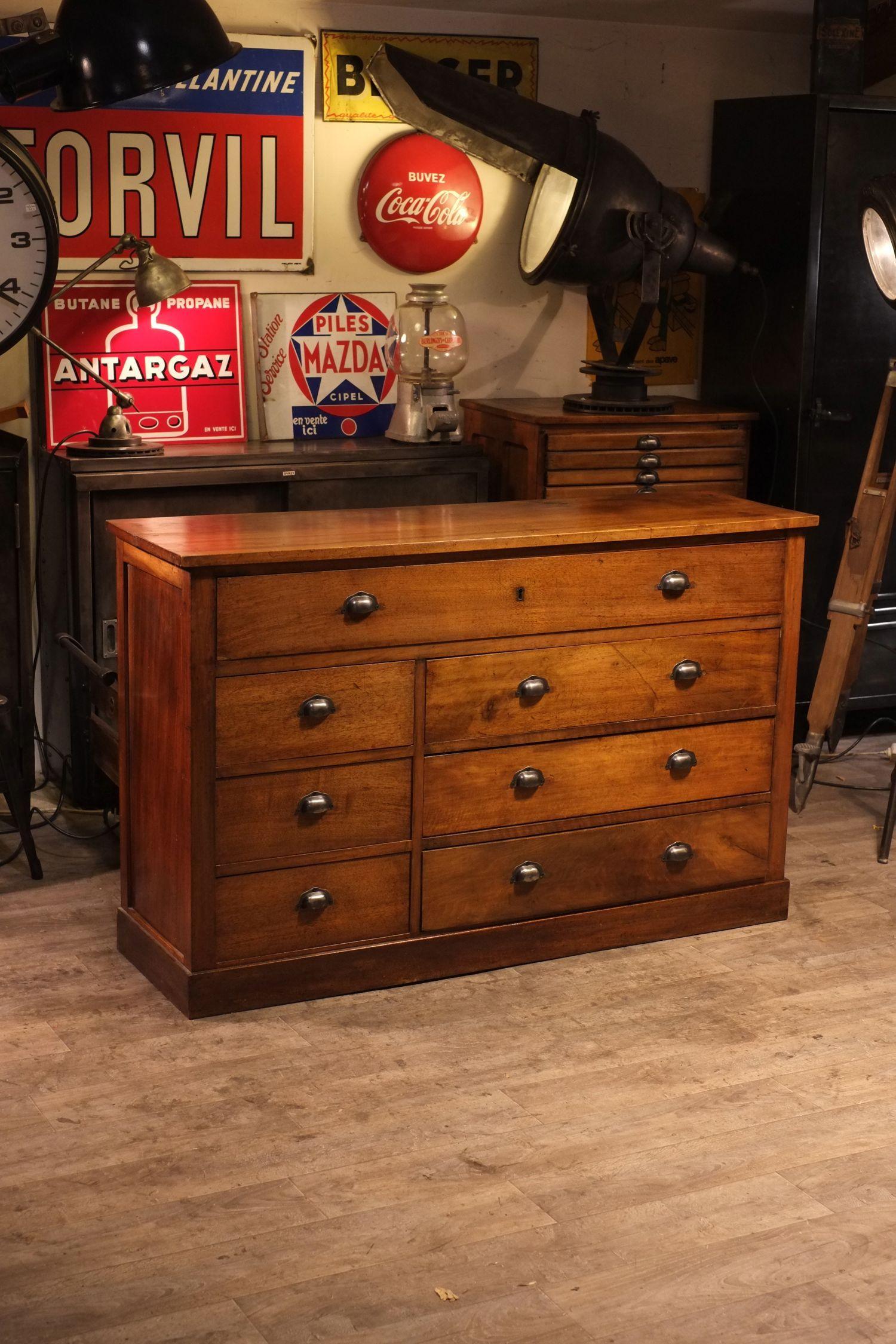 meuble de metier ancien deco loft organize pinterest. Black Bedroom Furniture Sets. Home Design Ideas