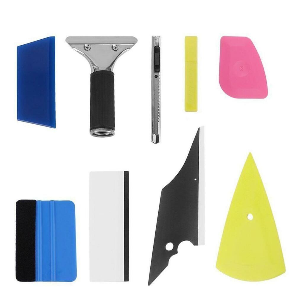PRO Car Wrap Applicator Tools Vinyl Squeegee Scraper Tuck Tool Window Tint US