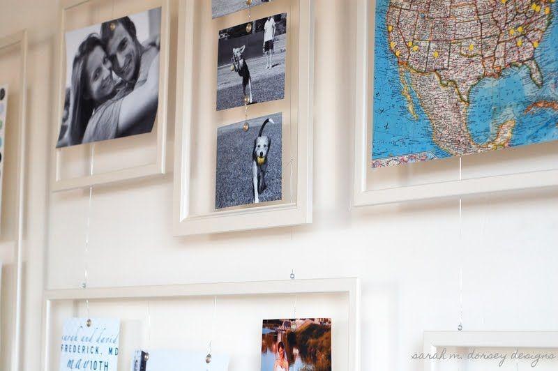 IKEA Hackers: Floating Gallery Wall for Under $60 | she\'s Crrrafty ...