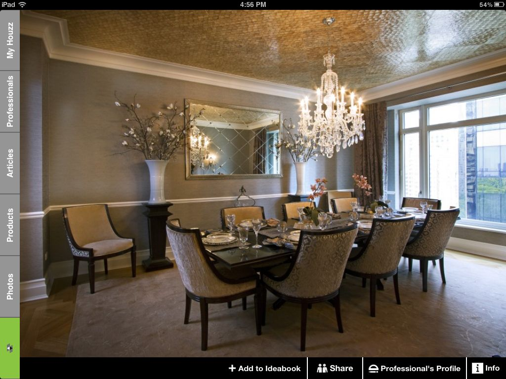 Houzz Dining Room Color Trim Ceiling Texture Dining Room