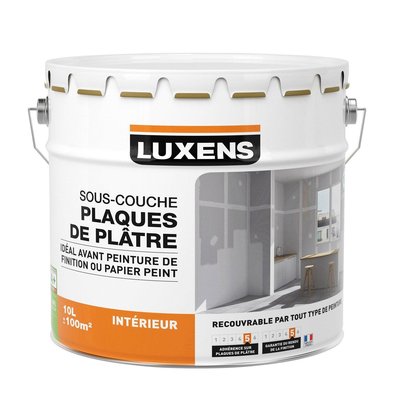 Sous Couche Plaque De Plâtre Luxens 10 L In 2019 Products