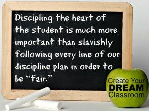 Quote from Create Your Dream Classroom: Save Your Sanity, Escape the Rut, Sharpen Your Skills  ($13.95 paperback, $7.99 eBook)