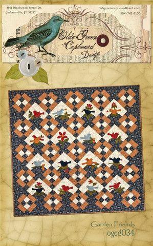 Garden Friends Quilt Pattern