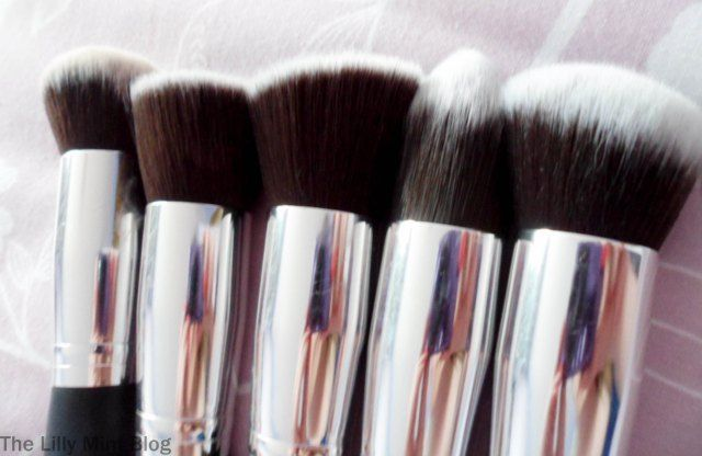 Jessup Brushes(ebay) - fantastic quality and far cheaper than Sigma etc