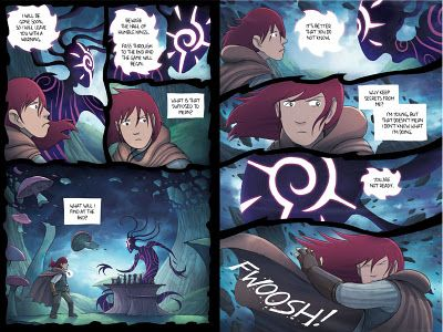 Amulet Interior Check Out How Brilliant This Is Laid Out Amulet Comic Books Graphic Novel