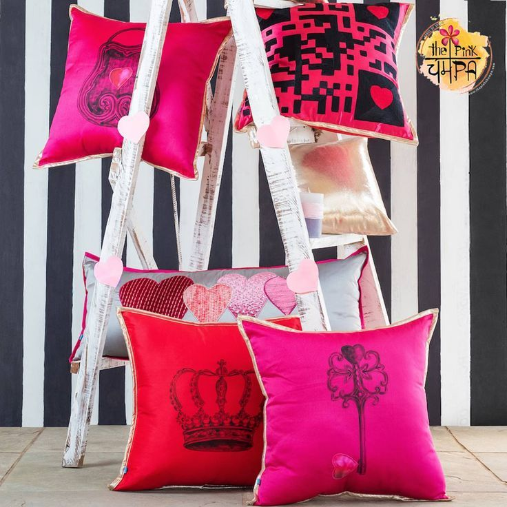 Trending home decor with The Pink Champa Throw Pillow Covers. home ...