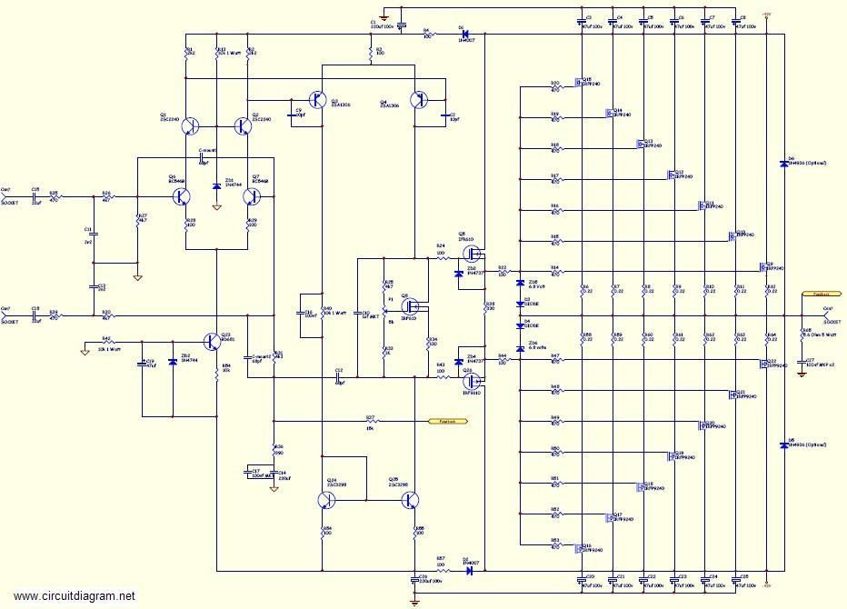 Pleasing Circuit Diagram 1000W Mosfet Circuit Diagram Data Schema Wiring Cloud Brecesaoduqqnet