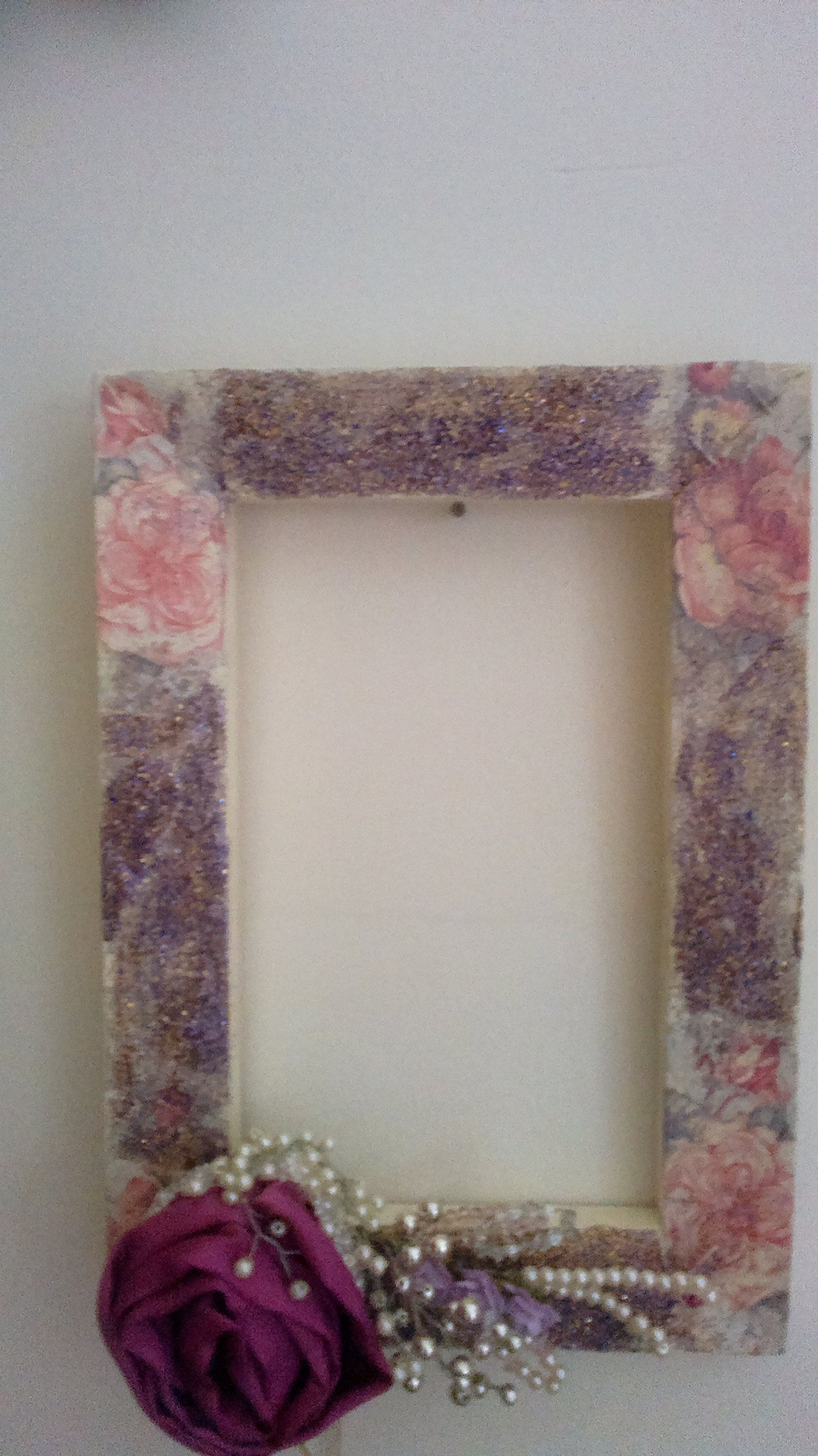 napkin decoupage frame   Homedecorations and Accessories   Pinterest ...