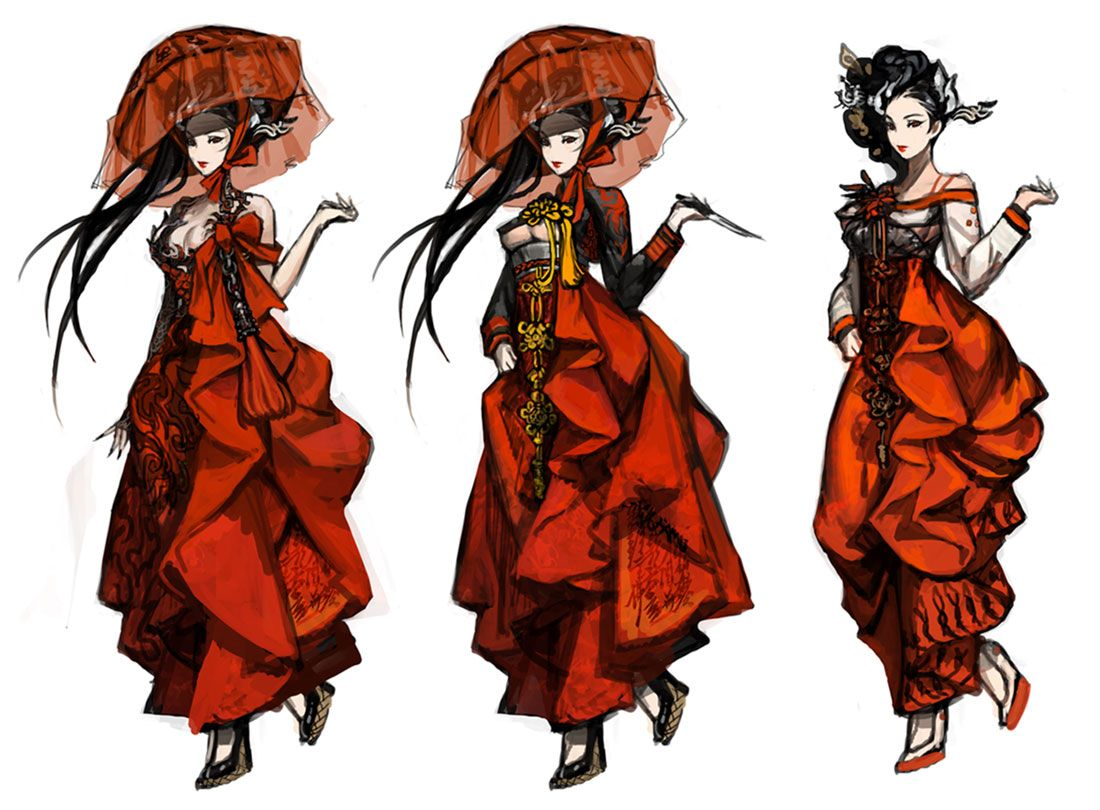 Yura Character Concept Artwork From Blade Soul Art