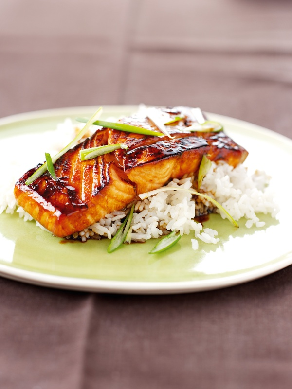Photo of Mirin Glazed Salmon