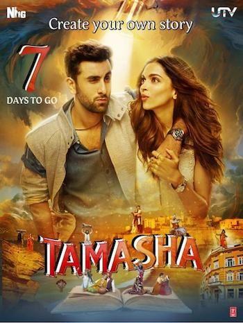 Tamasha 2015 Hindi DVDRip x264 700mb ESubs | Deepika ...