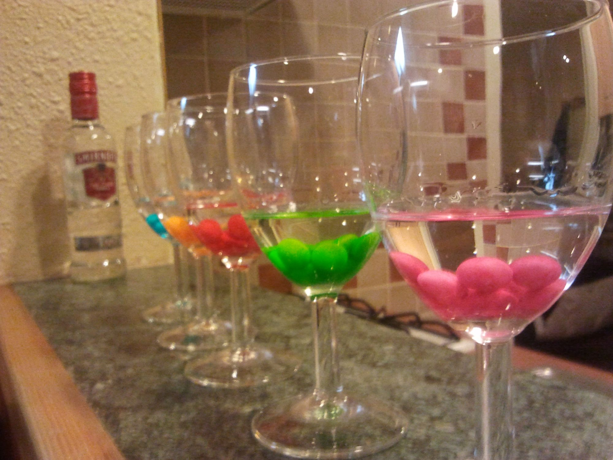 skittles in vodka. yum | Kitchen tricks | Pinterest | Wodka