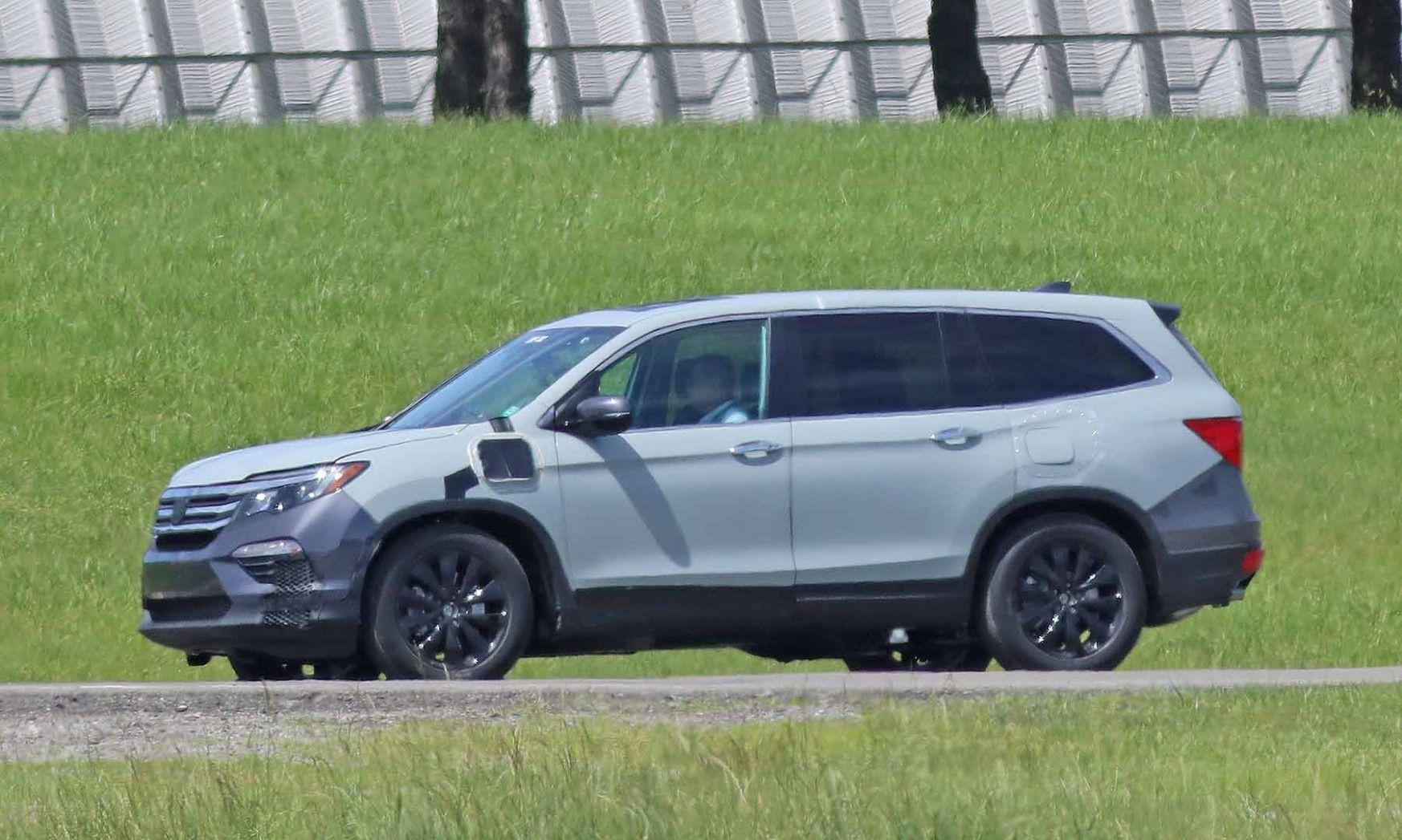 2020 Honda Pilot Spy Opinions 2020 Honda Pilot Spy Reviews ...