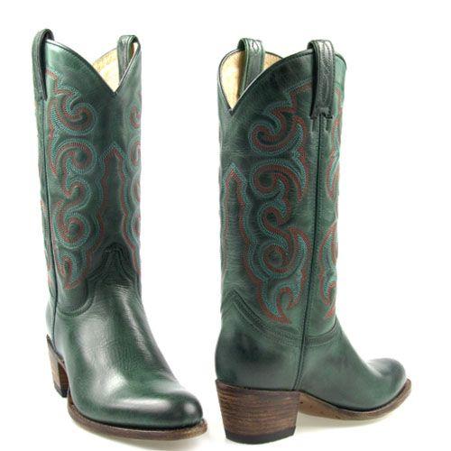 Sendra laarzen 13548 groen Deco Verde | Sendra Boots (men