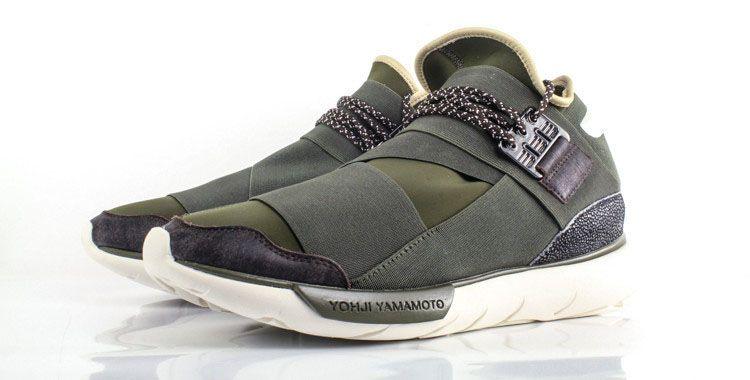 Adidas Y-3 Qasa High -Drab Green (Release Date- 7 3 14)  kicksfever  adidas   y3 777f40c28