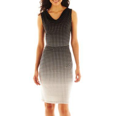 Worthington® Sleeveless Drape-Neck Dress found at @JCPenney | Mad ...