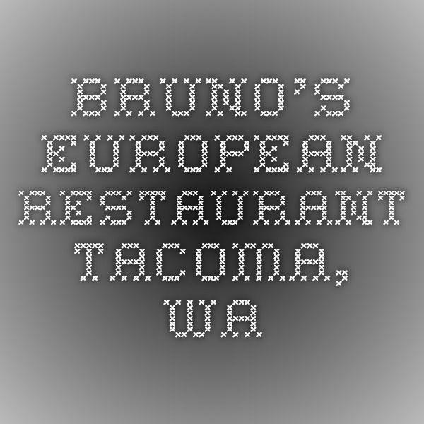 bruno s european restaurant tacoma wa polish cuisine food network recipes rouladen pinterest