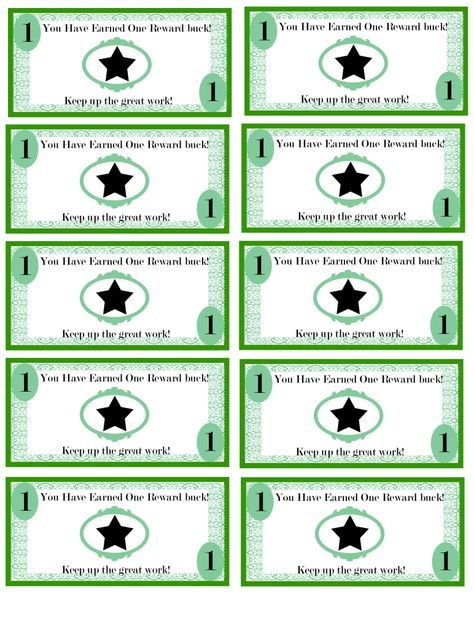 photo regarding Printable Reward Bucks named No cost Printable gain pounds for young children: Revenue concept. Im having