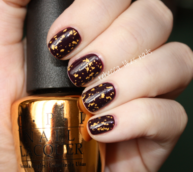 rebecca likes nails: OPI - The Man With The Golden Gun