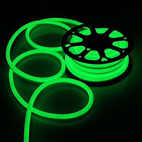 50ft 110V Flex LED Neon Rope Light Indoor Outdoor Holiday Disco