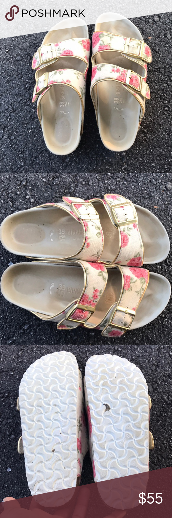 73893a0f69ca 🌸FLORAL BIRKENSTOCK ARIZONA SANDALS 39N🌸 Just wow. I absolutely loved  these shoes from