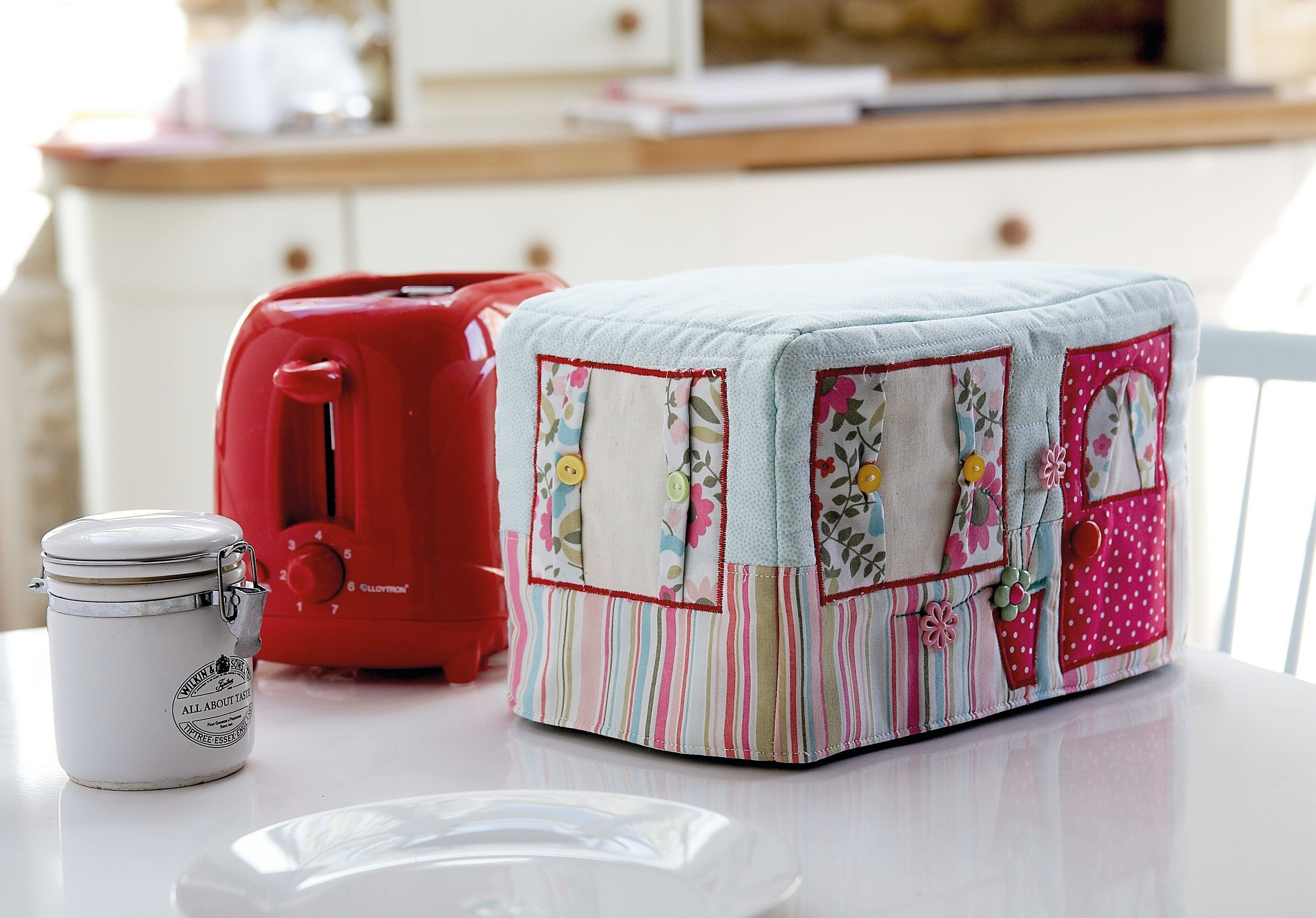 Caravan Toaster Cover Toaster Cover Sewing Basics