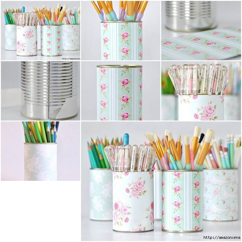 How To Make Delicate Pencil Holder step by step DIY ...