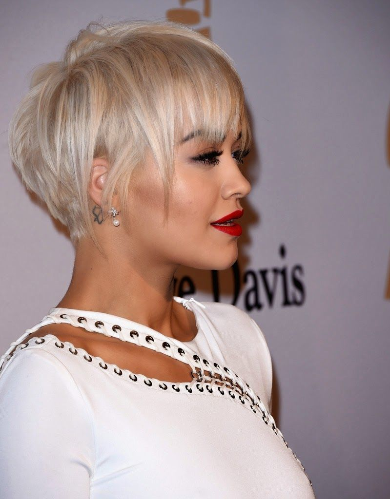 Rita Ora in a glamorous white gown at the Annual C