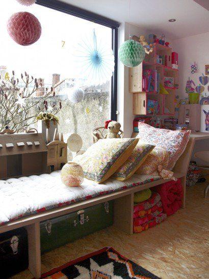 Une chambre denfant à partager avec the socialite family pas facile de partager une chambre en deux espaces distincts sans cloisonner mais en donnant un