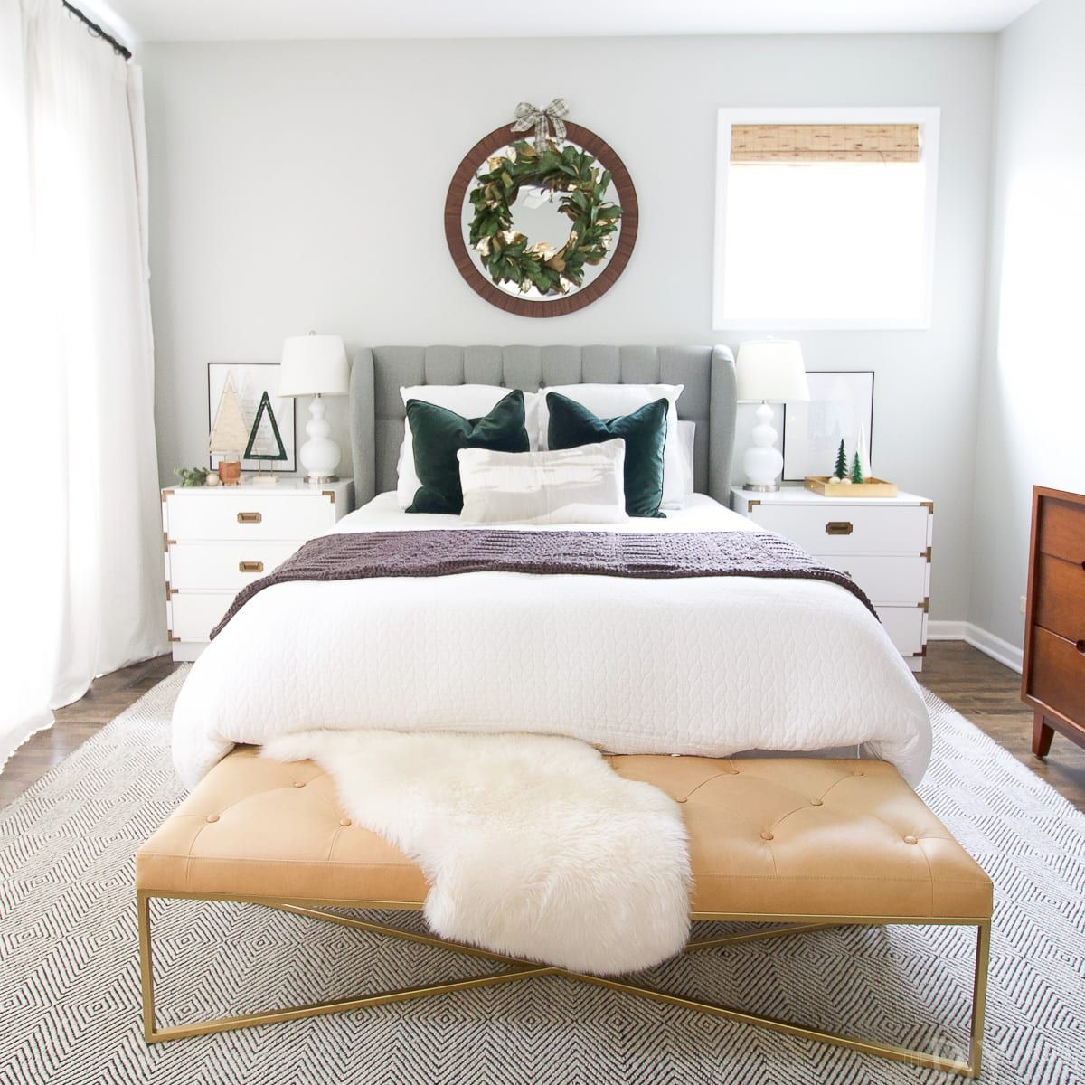 How to Decorate your Bedroom for the Holidays | Home, Home ...