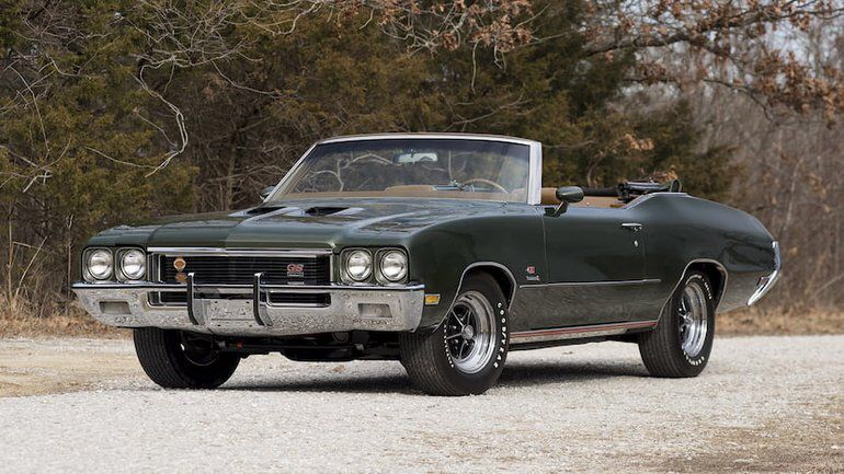 1972 Buick Gran Sport Stage 1 Convertible Buick gs