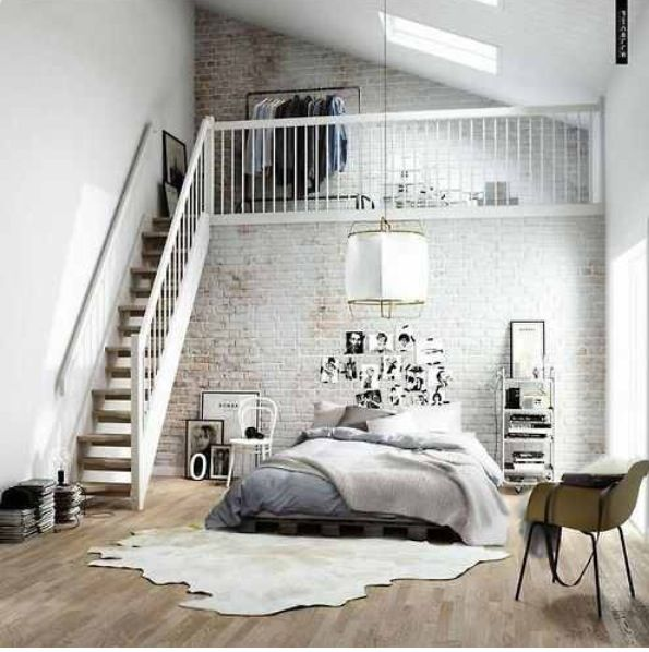 Charming Amazing 2 Story Loft Apartment Bedroom With Loft, Mezzanine Bedroom, Loft  Room,