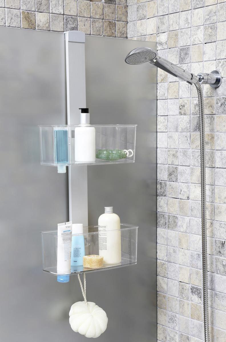 Dusch Hangeregal Silberfarbig 13 X 28 X 68 Cm Online Bei Poco Kaufen Duschregal Dusch Hangeregal Badezimmer
