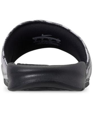 143ff0b4887a Nike Men s Benassi Jdi Print Slide Sandals from Finish Line - Gray ...