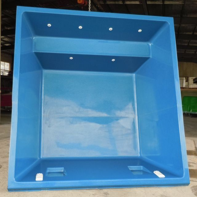 Zoe 2m 3m 4m 5m Fibreglass Swim Spa Plunge Pool Plunge Pool Splash Pool Dipping Pool