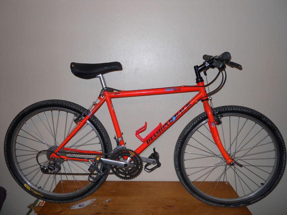 Vintage Diamondback Ascent Mountain Bike Old School Mtb 100 Crmo Avenir Orange Diamondback Mountain Biking Vintage Mtb