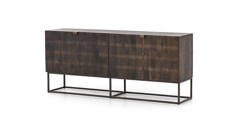 d6d40a6edfbf26 Ivan Wood and Iron Media Console in 2019 | Damen Furniture ...