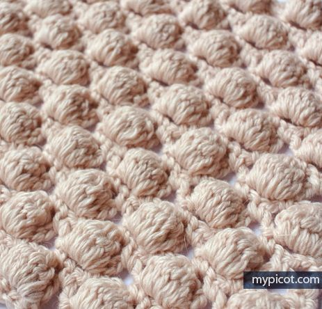 crochelinhasagulhas: Ponto de crochê (pipocas) | Maglieria ...