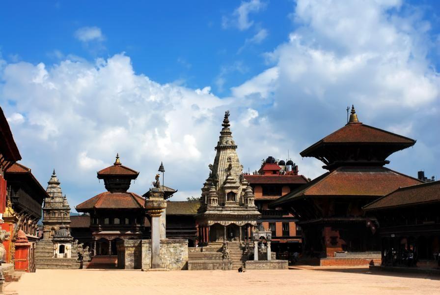 Patan Durbar Square in Lalipur
