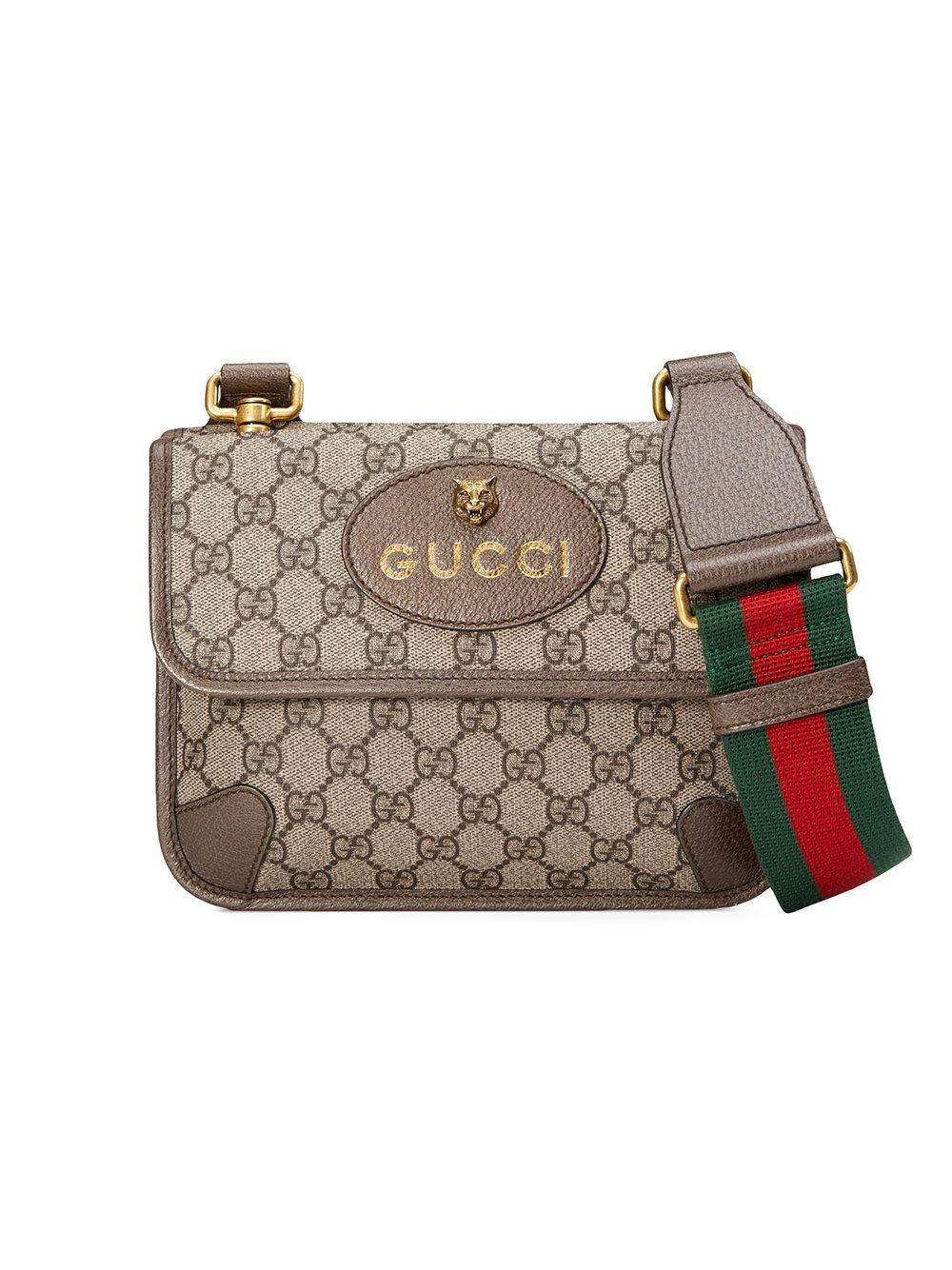 763ee588842fb4 Gucci GG Supreme small messenger bag | Bags | Bags, Small messenger ...