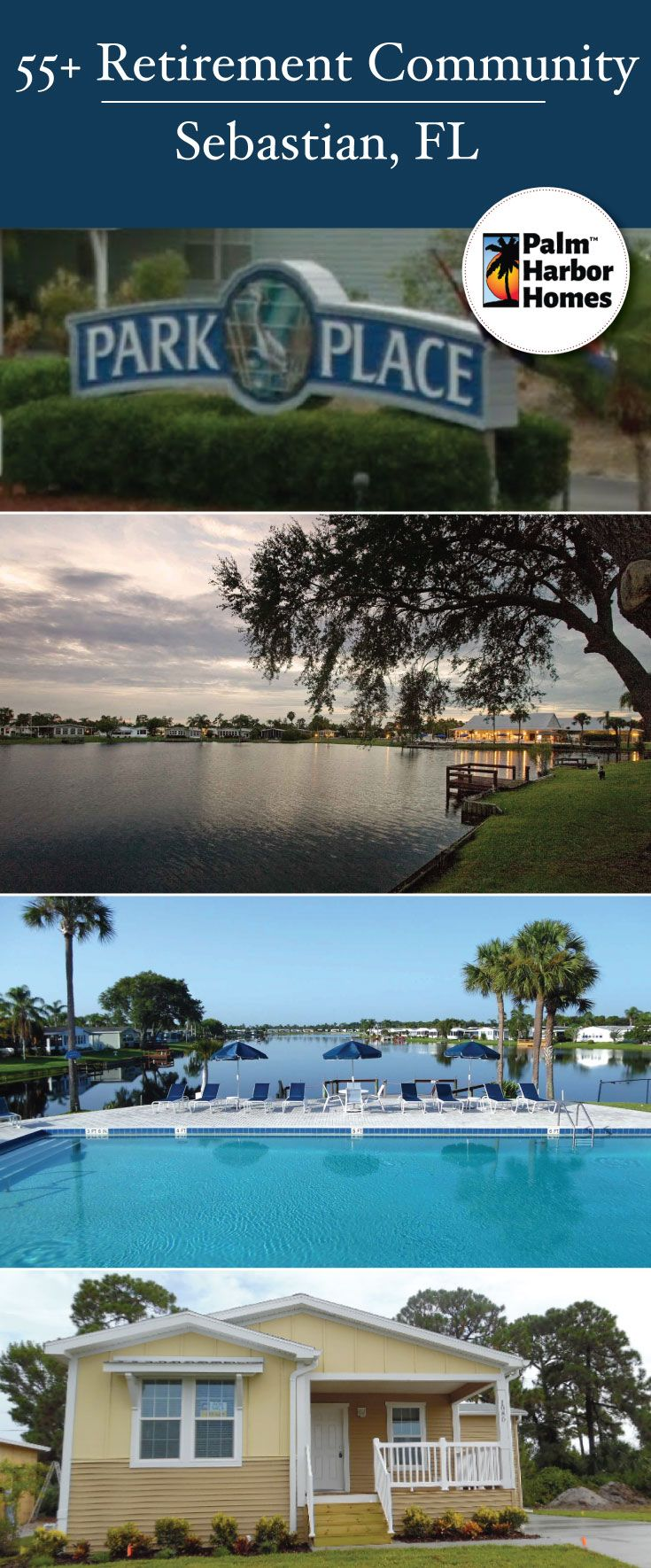 If An Amazing Florida 55 Lifestyle Is Your Dream This Is The Place Park Place A Scenic Treasure Coast 55 Palm Harbor Homes Mobile Home Parks Modular Homes