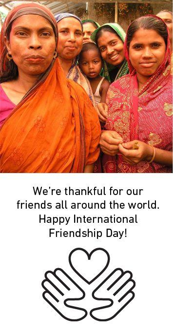 Meet friends all over the world