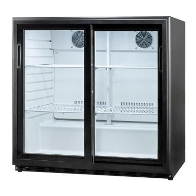 Summit appliance 65 cu ft sliding glass door all refrigerator sliding glass door all refrigerator in black planetlyrics Choice Image