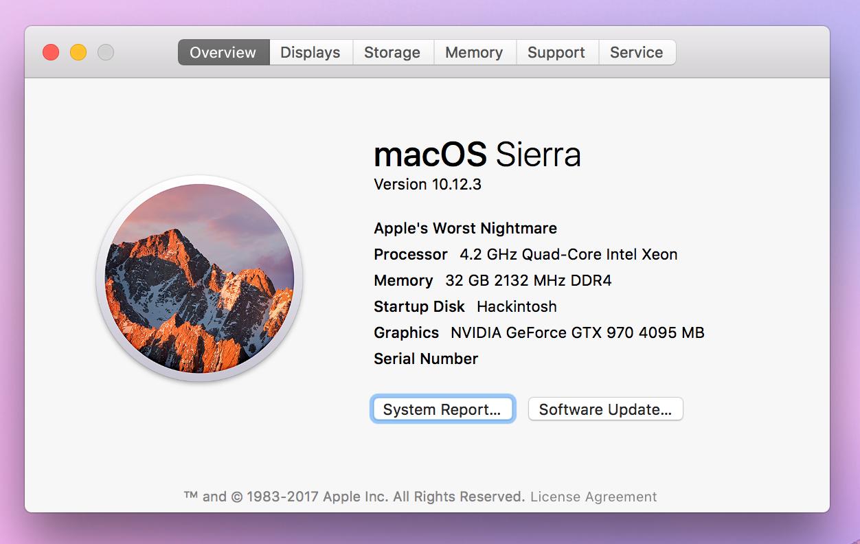 Hackintosh: Mac model renamed   For ~ Cher Tech   Apple ...