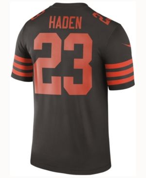 the latest 6fd8e dc939 Nike Men's Joe Haden Cleveland Browns Legend Color Rush ...